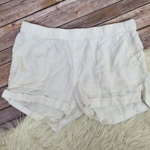 Cloth & Stone Anthropologie White Summer Short L
